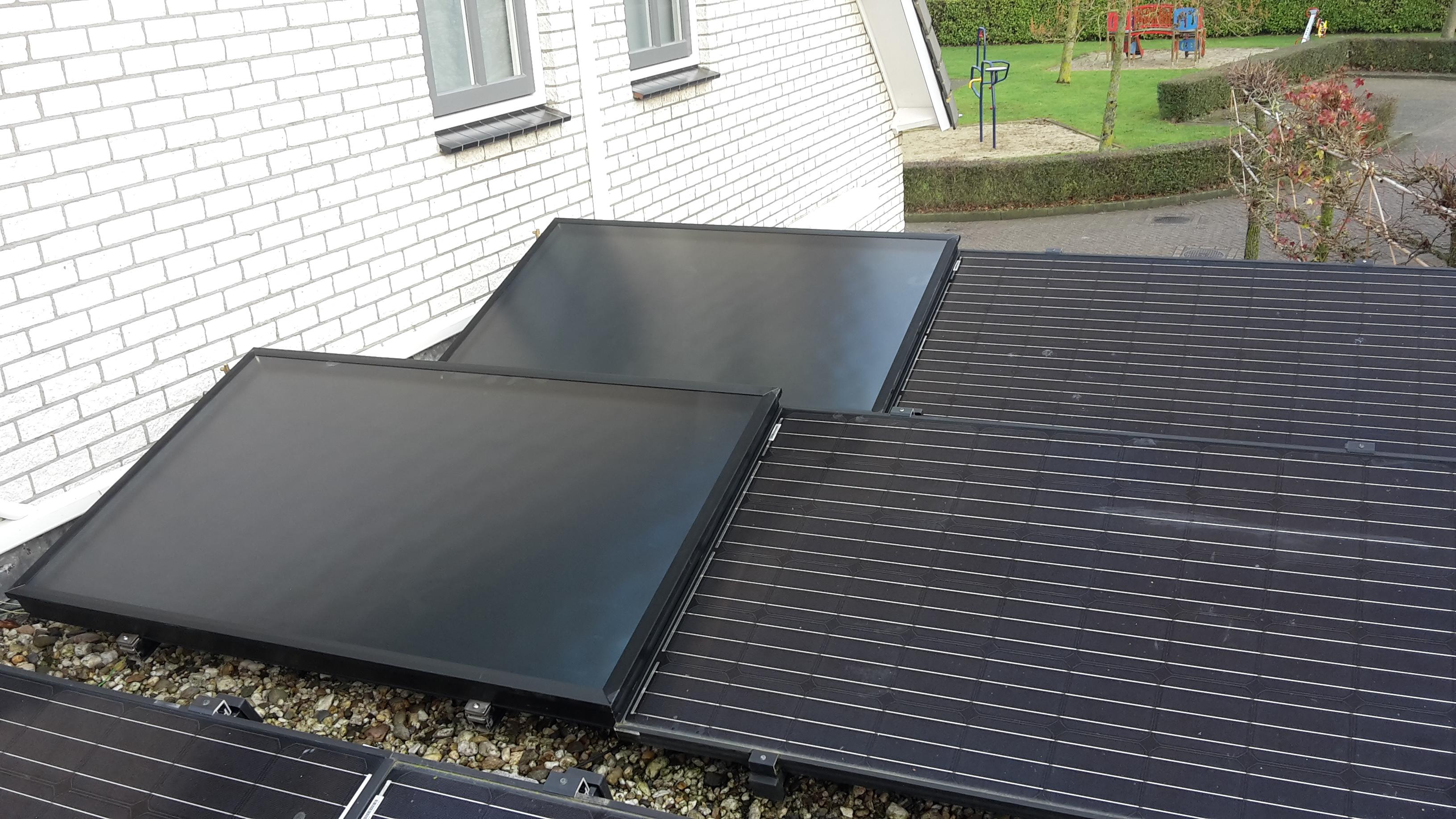 HR Solar HPC 1.6 zonneboiler collector