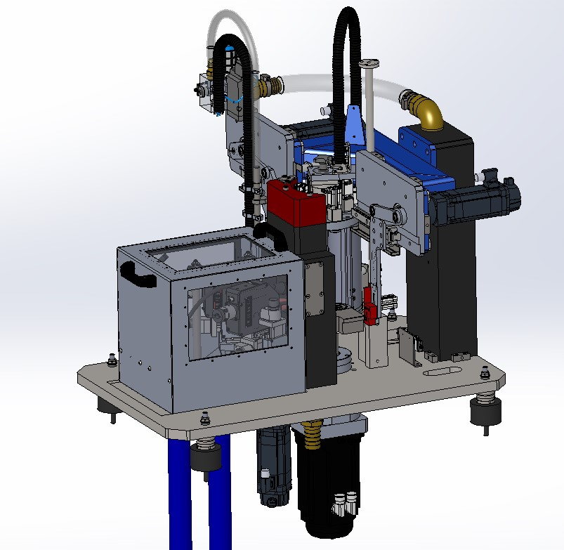 kunststof laserlasmachine unit