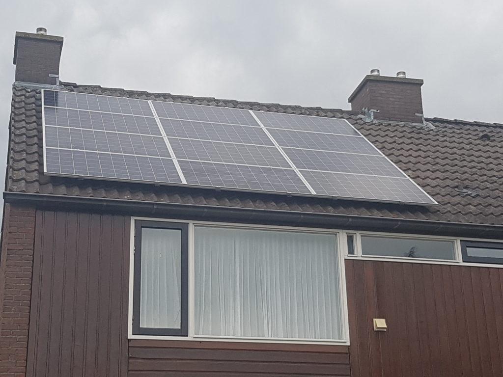 Canadian Solar polykristal 275Wp panelen Sunny Boy 3.6