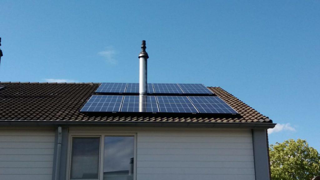REC solar Twinpeak polykristal 290Wp Den Bosch Noord brabant