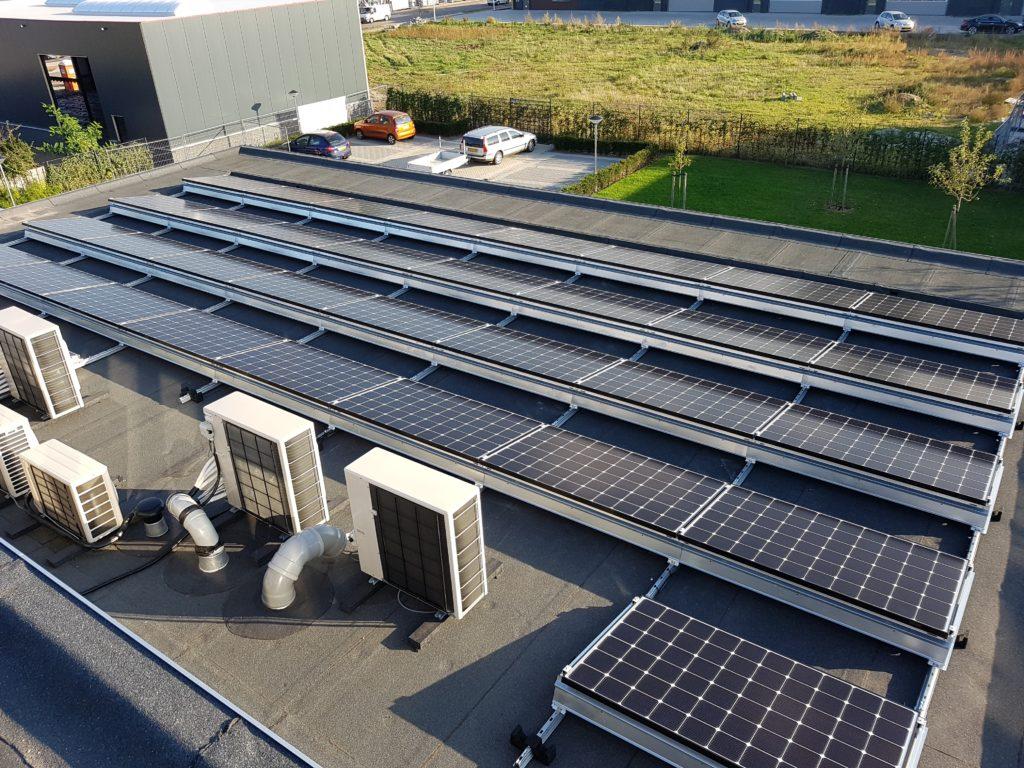 AUO SunBravio 325Wp panelen SMA Tripower 15.000Tl-30 omvormer