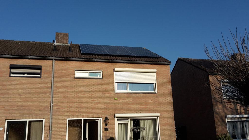 zonnepanelen plat dak kerkdriel
