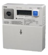 Digitale meter met terulever registartie - afbeelding